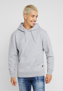 Jack & Jones - Kapuzenpullover - light grey melange