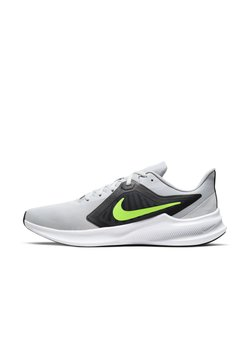 Nike Performance - DOWNSHIFTER 10 - Zapatillas de running neutras - grey fog/black/white/volt