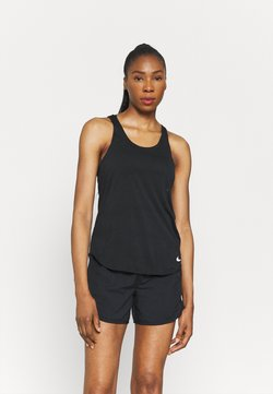 Nike Performance - BREATHE TANK COOL - Top - black/reflective silver
