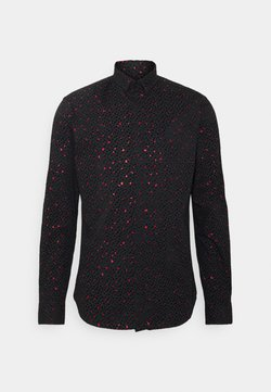Twisted Tailor - FARROW - Hemd - black/red