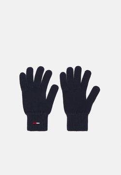Tommy Jeans - BASIC FLAG GLOVES - Fingerhandschuh - blue