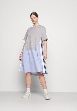 adidas Originals - Dry Clean Only xSHIRT DRESS - Jerseykleid - medium grey heather