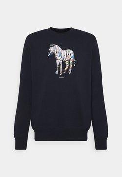 PS Paul Smith - FIT ZEBRA UNISEX - Sweatshirt - dark blue