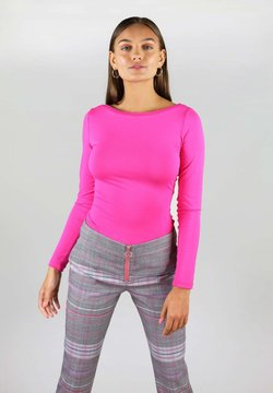 blonde gone rogue - WITH TWISTED BACK - Long sleeved top - pink