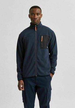 Selected Homme - Kurtka z polaru - navy blazer