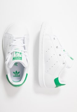 adidas Originals - STAN SMITH - Baskets basses - footwear white/green