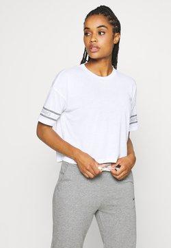 Nike Performance - T-Shirt print - white/black