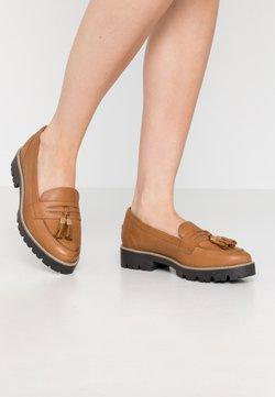 New Look - LORENZO CHUNKY LOAFER - Slip-ons - tan