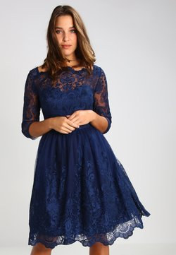 Chi Chi London Curvy - GISELLE - Cocktail dress / Party dress - navy