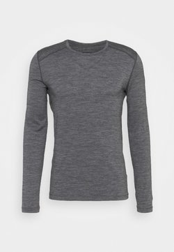 Icebreaker - MENS CREWE - Funktionsshirt - gritstone heather