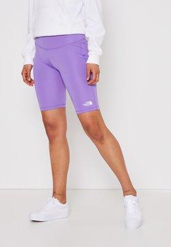 The North Face - FLEX SHORT  - Tights - pop purple
