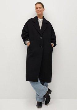 Mango - GAUGUIN - Wollmantel/klassischer Mantel - schwarz
