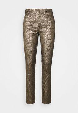 Banana Republic - SLOAN MODERN DOT - Pantaloni - gold