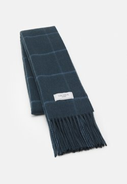 Les Deux - LES DEUX CHECK SCARF - Scarf - blue fog/blue mirage