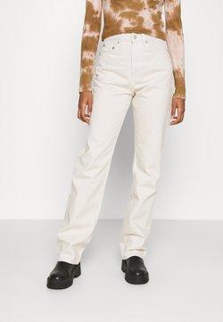 Weekday - ROWE WIN - Straight leg jeans - tinted ecru