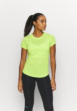 Under Armour - STREAKER SHORT SLEEVE - T-Shirt basic - green citrine