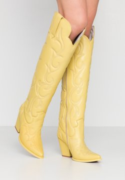 Jeffrey Campbell - AMIGOS - High Heel Stiefel - yellow