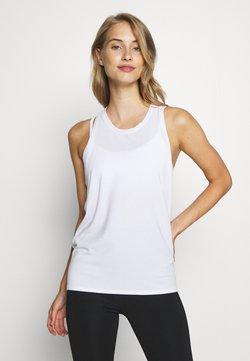 GAP - TIE BACK TANK NON HOT - Funktionsshirt - optic white