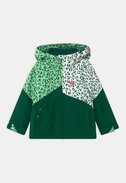 Ziener - ALANI JUN UNISEX - Kurtka snowboardowa - spruce green/white