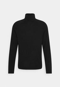Weekday - TREY TURTLENECK SWEATER - Stickad tröja - black