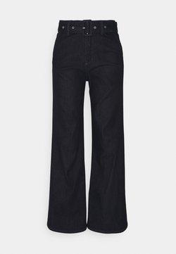 s.Oliver - LANG - Jeans a zampa - dark blue