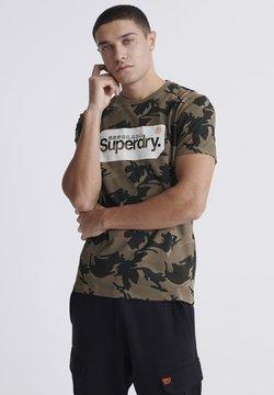 Superdry - T-Shirt print - green