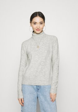 JDY - JDYELANORA  - Strickpullover - light grey melange