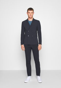 Lindbergh - DOUBLE BREASTED SUIT - SLIM FIT - Puku - navy