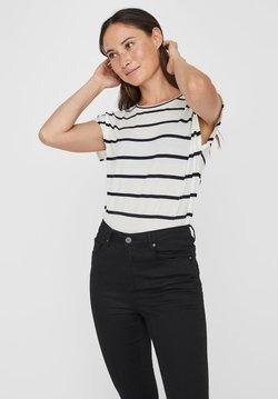 Vero Moda - VMAVA  - T-Shirt print - snow white