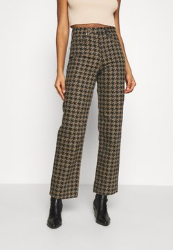 Topshop - DOG RUNWAY - Relaxed fit -farkut - brown
