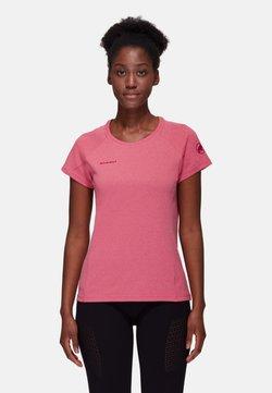 Mammut - AEGILITY - T-Shirt print - sundown melange
