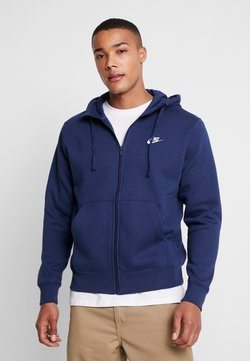 Nike Sportswear - CLUB HOODIE - Hettejakke - midnight navy/white