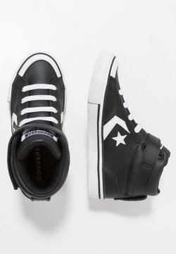 Converse - PRO BLAZE STRAP - Korkeavartiset tennarit - black/white