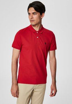Selected Homme - SHDARO EMBROIDERY - Polo - red