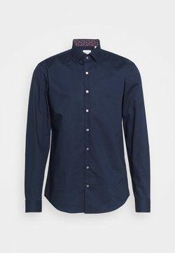 Calvin Klein Tailored - POPLIN CONTRAST SLIM - Businesshemd - navy
