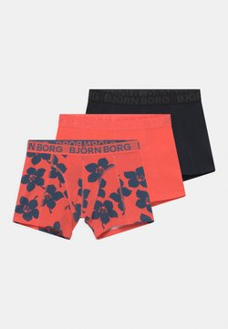 Björn Borg - GRAPHIC FLORAL SAMMY 3 PACK - Panties - hot coral