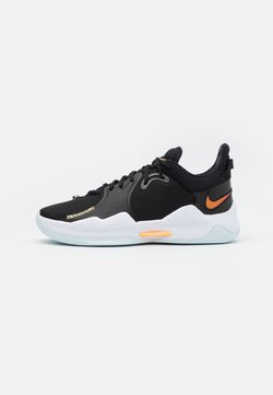 Nike Performance - PG 5 - Zapatillas de baloncesto - black/multicolor/white/barely green