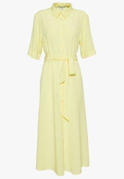 Monki - ADRIANA DRESS - Skjortekjole - yellow