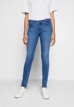 Marc O'Polo - TROUSER LOW WAIST REGULAR LENGTH - Jeans slim fit - royal blue wash