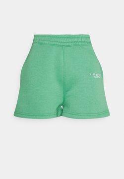 Missguided Petite - BUTTON RUNNER - Shorts - green