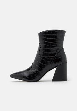 Simply Be - CARNATION WIDE FIT - Korte laarzen - black