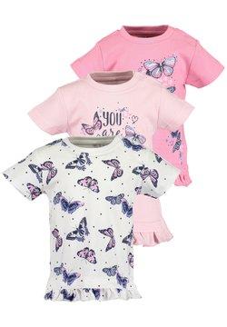 Blue Seven - MINI MD T-SHIRT - 3ER PACK - T-shirt print - rose