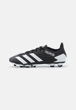 adidas Performance - PREDATOR 20.4 FOOTBALL BOOTS FIRM GROUND - Moulded stud football boots - core black/footwear white
