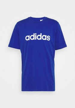 adidas Performance - T-shirt z nadrukiem - bold blue/white
