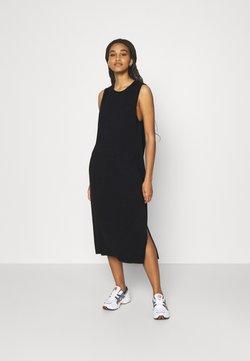 NU-IN - SLEEVELESS SIDE SLIT DRESS - Day dress - black