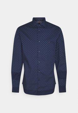 Tommy Hilfiger Tailored - FLEX CIRCLE DOT PRINT SHIRT - Camicia - yale navy/colorado indigo