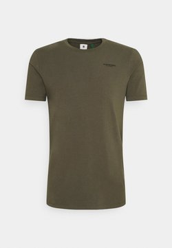 G-Star - SLIM BASE R T - Camiseta básica - compact stretch combat