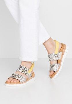 Gabor Comfort - Sandalen met sleehak - creme/sun