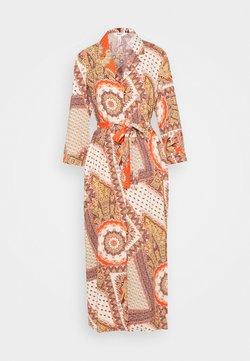 Object Tall - OBJSUN LONG DRESS  - Korte jurk - cloud dancer