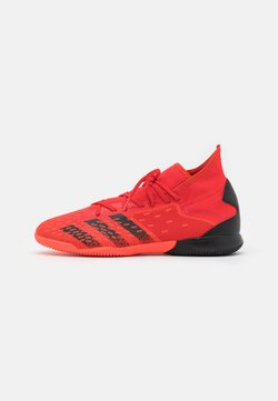 adidas Performance - PREDATOR FREAK .3 IN - Botas de fútbol sin tacos - red/core black/solar red